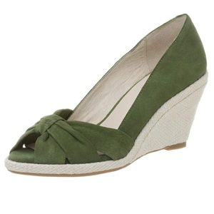 KENNETH COLE Reaction Suede Leather Wedges 8.5